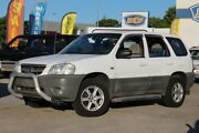 2002 Mazda Tribute Classic Traveller White 4 Speed Automatic Wagon Greenslopes Brisbane South West Preview