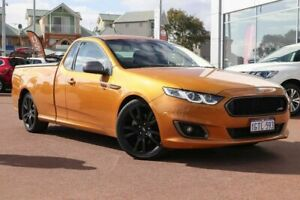 2014 Ford Falcon FG X XR6 Ute Super Cab Turbo Victory Gold 6 Speed Manual Utility Clarkson Wanneroo Area Preview