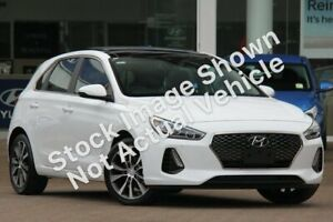 2017 Hyundai i30 PD MY18 Premium D-CT White 7 Speed Sports Automatic Dual Clutch Hatchback Pennant Hills Hornsby Area Preview