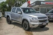 2013 Holden Colorado RG MY13 LX Crew Cab 4x2 Silver 5 Speed Manual Utility Noosaville Noosa Area Preview