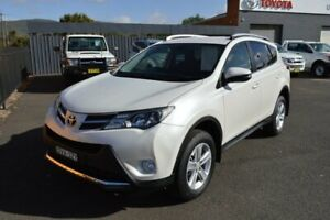 2014 Toyota RAV4 ASA44R GXL (4x4) Crystal Pearl 6 Speed Automatic Wagon Wellington Wellington Area Preview