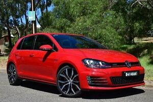 2013 Volkswagen Golf VII MY14 GTI DSG Red 6 Speed Sports Automatic Dual Clutch Hatchback St Marys Mitcham Area Preview