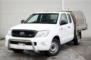2011 Toyota Hilux GGN15R MY10 SR Xtra Cab White 5 Speed Automatic Utility Seaford Frankston Area Preview