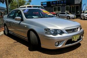 2008 Ford Falcon XR6 BF MK 11 XR6 Silver Automatic Sedan Colyton Penrith Area Preview