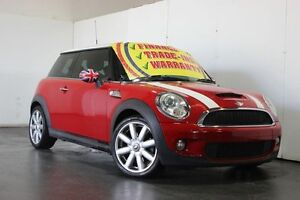 2008 Mini Cooper R56 S Red 6 Speed Automatic Hatchback Underwood Logan Area Preview