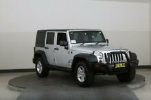 2010 Jeep Wrangler Unlimited JK MY09 Sport (4x4) Silver 4 Speed Automatic Softtop Smithfield Parramatta Area Preview