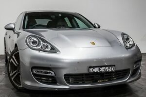 2011 Porsche Panamera 970 MY11 Turbo GT PDK AWD Silver 7 Speed Sports Automatic Dual Clutch Sedan Rozelle Leichhardt Area Preview