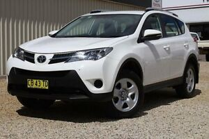 2014 Toyota RAV4 ASA44R MY14 Upgrade GX (4x4) Glacier White 6 Speed Automatic Wagon Windradyne Bathurst City Preview