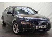2013 Audi A4 2.0 TDI SE TECHNIK 4d AUTO 141 BHP Diesel black CVT