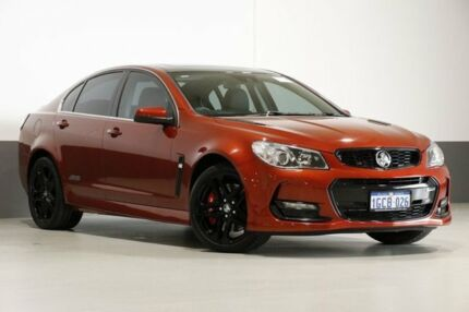 2016 Holden Commodore VF II SS-V Redline Red 6 Speed Automatic Sedan Bentley Canning Area Preview