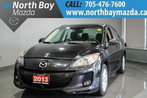 2013 Mazda Mazda3 GS-SKY  Sunroof + Leather Interior + Bose Spea