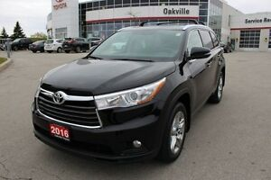 2016 Toyota Highlander Limited/ One Owner/ No Accidents