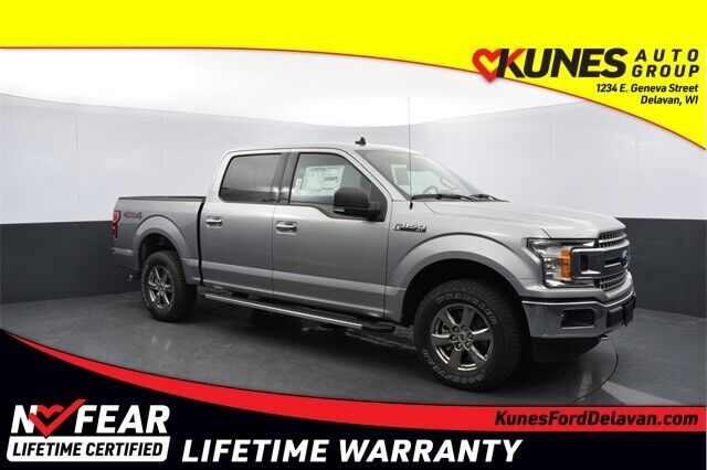2020 Ford F-150 XLT Silver 4D SuperCrew - Shipping Available!