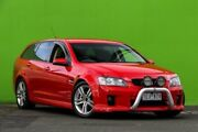 2010 Holden Commodore VE MY10 SV6 Sportwagon Red 6 Speed Sports Automatic Wagon Ringwood East Maroondah Area Preview