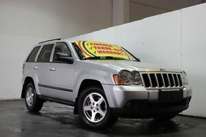 2008 Jeep Grand Cherokee WH Laredo (4x4) Silver 5 Speed Automatic Wagon Underwood Logan Area Preview