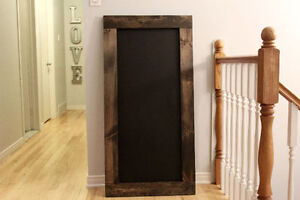 Large Chalkboard Rustic Home Decor
