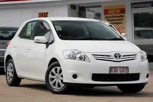 2012 Toyota Corolla ZRE152R MY11 Ascent Glacier 6 Speed Manual Hatchback Woolloongabba Brisbane South West Preview