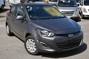2015 Hyundai i20 PB MY15 Active Silver 4 Speed Automatic Hatchback Myaree Melville Area Preview