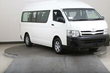 2011 Toyota Hiace KDH223R MY11 Upgrade Commuter White 4 Speed Automatic Bus Smithfield Parramatta Area Preview