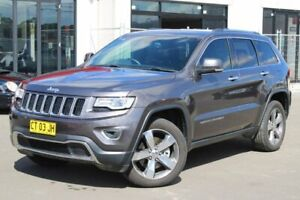 2015 Jeep Grand Cherokee WK MY15 Limited Grey 8 Speed Sports Automatic Wagon Goulburn Goulburn City Preview