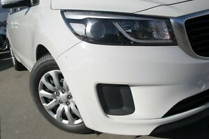 2015 Kia Carnival YP MY15 S White 6 Speed Automatic Wagon Waitara Hornsby Area Preview