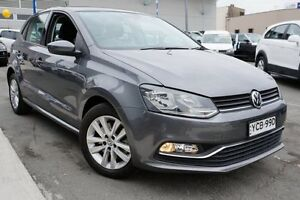 2014 Volkswagen Polo 6R MY15 81TSI DSG Comfortline Grey 7 Speed Sports Automatic Dual Clutch Pearce Woden Valley Preview