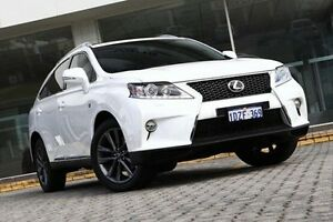 2012 Lexus RX350 White Sports Automatic Wagon St James Victoria Park Area Preview