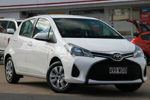 2014 Toyota Yaris NCP130R Ascent Glacier 4 Speed Automatic Hatchback Woolloongabba Brisbane South West Preview