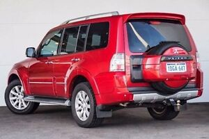 2010 Mitsubishi Pajero NT MY10 Exceed Red 5 Speed Sports Automatic Wagon Pearsall Wanneroo Area Preview