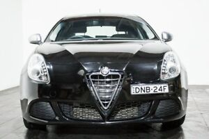 2014 Alfa Romeo Giulietta Series 0 MY13 Black 6 Speed Manual Hatchback
