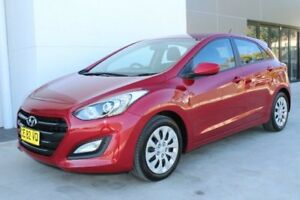 2015 Hyundai i30 GD3 Series II MY16 Active Red 6 Speed Sports Automatic Hatchback Gosford Gosford Area Preview