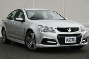 2014 Holden Commodore VF MY14 SV6 Silver 6 Speed Sports Automatic Sedan Upper Ferntree Gully Knox Area Preview