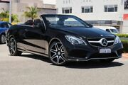 2014 Mercedes-Benz E250 A207 MY14 7G-Tronic + Black 7 Speed Sports Automatic Cabriolet Nedlands Nedlands Area Preview