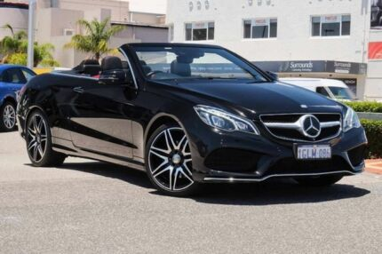 2014 Mercedes-Benz E250 A207 MY14 7G-Tronic + Black 7 Speed Sports Automatic Cabriolet