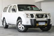 2010 Nissan Navara D40 RX White 6 Speed Manual Utility Bellevue Swan Area Preview