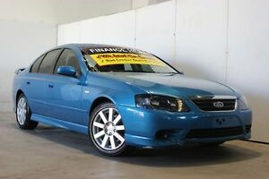 2008 Ford Falcon BF MkII SR (LPG) Blue 4 Speed Auto Seq Sportshift Sedan Underwood Logan Area Preview