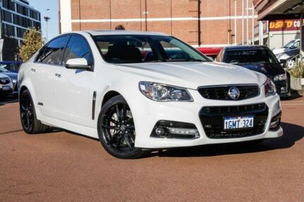 2013 Holden Commodore VF MY14 SS V Redline White 6 Speed Sports Automatic Sedan Fremantle Fremantle Area Preview