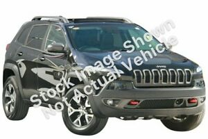 2015 Jeep Cherokee KL MY15 Trailhawk Black 9 Speed Sports Automatic Wagon Hoppers Crossing Wyndham Area Preview