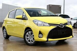 2015 Toyota Yaris NCP131R SX Vivid Yellow 4 Speed Automatic Hatchback Blacktown Blacktown Area Preview