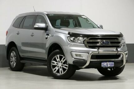 2016 Ford Everest UA MY17 Trend Silver 6 Speed Automatic Wagon Bentley Canning Area Preview