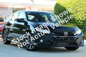 2018 Honda Civic 10th Gen MY18 VTi-S Black 1 Speed Constant Variable Hatchback