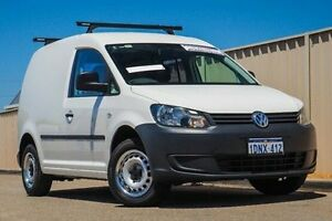 2011 Volkswagen Caddy 2KN MY11 TSI160 SWB White 5 Speed Manual Van Pearsall Wanneroo Area Preview
