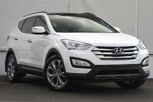 2013 Hyundai Santa Fe DM MY13 Highlander White 6 Speed Sports Automatic Wagon Upper Ferntree Gully Knox Area Preview