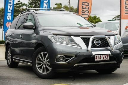 2014 Nissan Pathfinder R52 MY15 ST X-tronic 4WD Grey 1 Speed Constant Variable Wagon Aspley Brisbane North East Preview