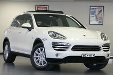 2011 Porsche Cayenne 92A MY12 Tiptronic White 8 Speed Sports Automatic Wagon North Willoughby Willoughby Area Preview