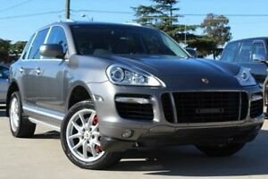 2008 Porsche Cayenne MY08 Turbo Grey 6 Speed Tiptronic Wagon Lansvale Liverpool Area Preview
