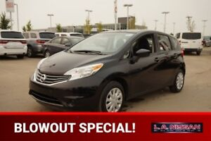 2016 Nissan Versa Note SV AUTOMATIC Back-up Cam,  Bluetooth,  A/