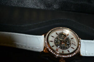 like new sturling hand made automat watch for ladies (defective)