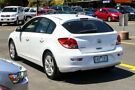 2013 Holden Cruze JH Series II MY13 Equipe White 6 Speed Sports Automatic Hatchback Ringwood East Maroondah Area image 2