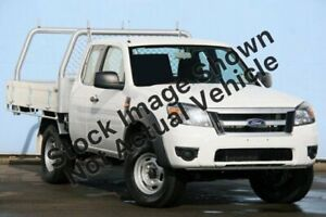 2010 Ford Ranger PK XL Super Cab White 5 Speed Manual Cab Chassis Maroochydore Maroochydore Area Preview